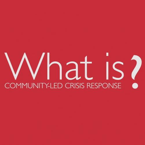 Community-led crisis response Image