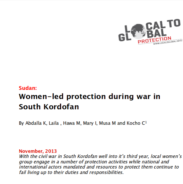 Women-led protection in South Kordofan, Sudan Image