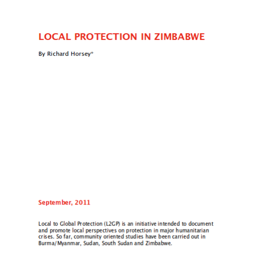 Local Protection in Zimbabwe Image