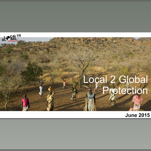 L2GP webinar on community-led protection III Image