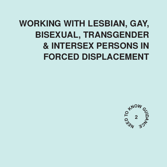 Working with Lesbian, Gay, Bisexual, Transgender and Intersex Persons in Forced Displacement Image