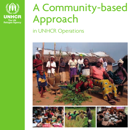 UNHCR Manual on a Community Based Approach in UNHCR Operations Image